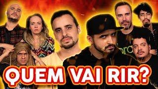 NÃO PODE RIR! com Thiago Ventura, Rodrigo Marques, Diogo Portugal e Diego Baro