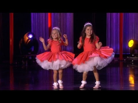 Sophia Grace & Rosie Perform 'thrift Shop' video