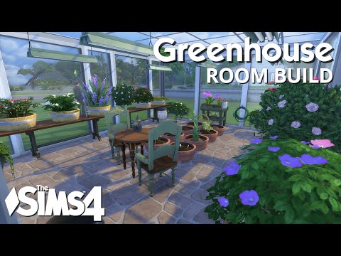 The Sims 4 Room Build - Greenhouse