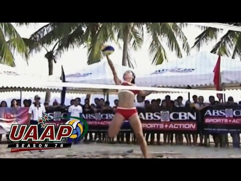NCAA 91 Beach Volleyball Jr's Finals: SBC vs SCC-R Game Highlights