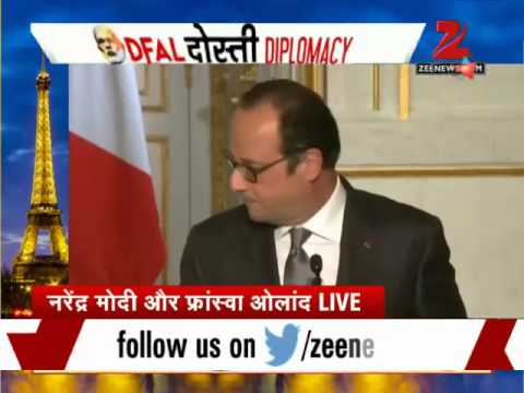 PM Modi in Paris: India to buy 36 French-made Rafale jets, crucial deals struck
