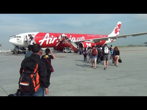 Air Asia X A330-300 (D7222) Full Flight - Kuala Lumpur (KLIA) to Sydney (YSSY)