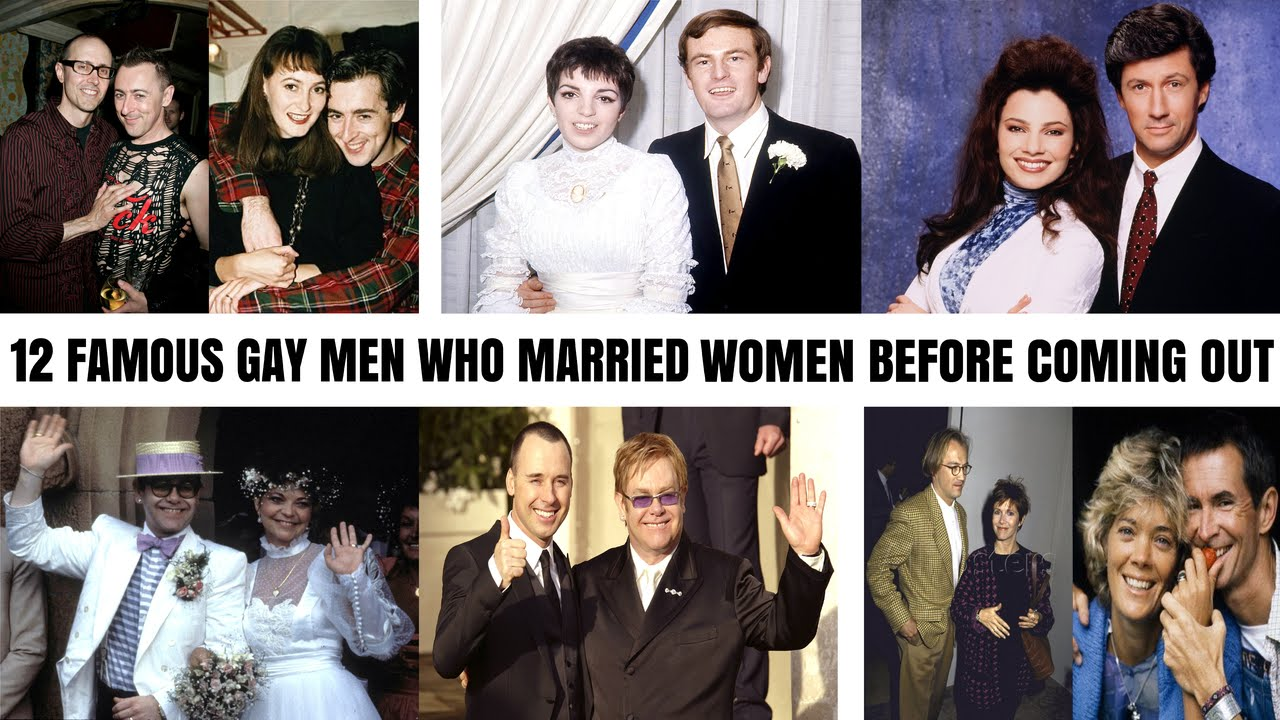12 Famous Gay Men Who Married Women Before Coming Out As Gay