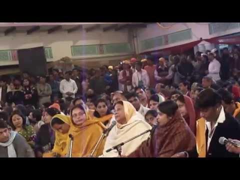 Sadhvi Purnima (poonam Didi) Ji On Barsana Holi Samaj 2014 video