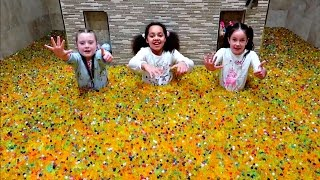 ORBEEZ CHALLENGE! LOL Surprise Dolls - Superhero Mashems - Disney Toys Surprise Toys For Kids