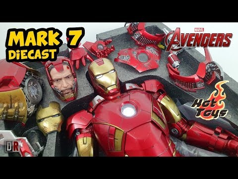 Hot Toys IRON MAN MARK 7 Diecast Review BR / DiegoHDM