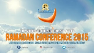 Ramadan Conference 2015 – FAMILY EVENT – (Free admission for all)