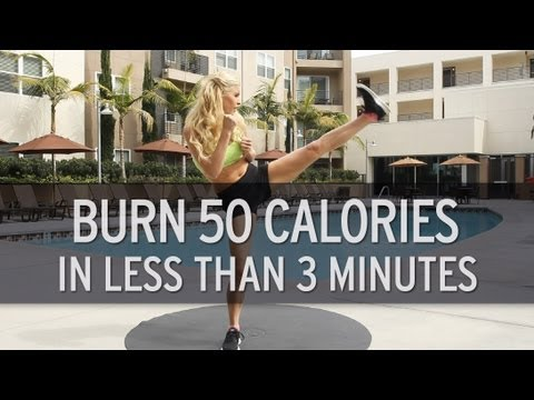 How to Burn 50 Calories in Less Than 3 Minutes