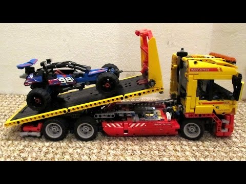 LEGO Technic 8109 Motorized Tow Truck