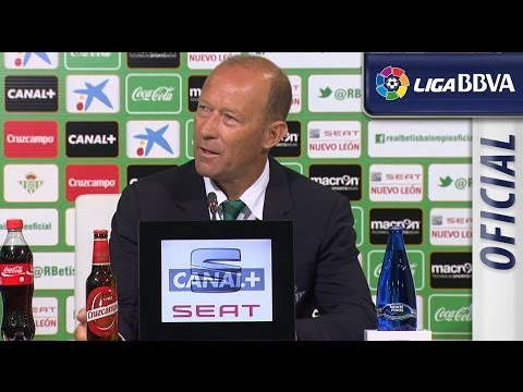 Press Conference Calderon post Real Betis (0-2) Sevilla FC - HD