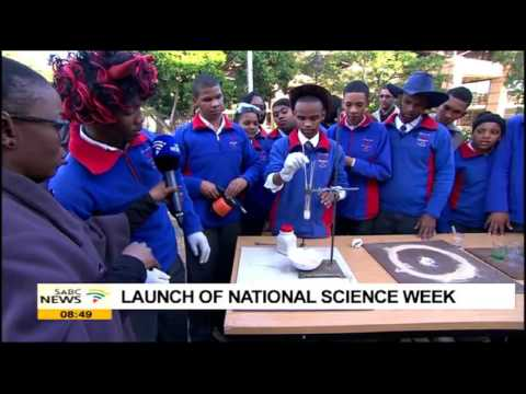 Science experiments by school pupils