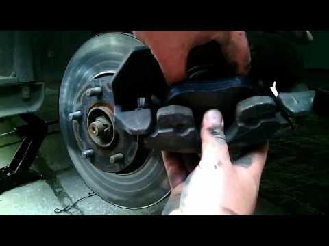 Как заменить колодки на форд транзит видео