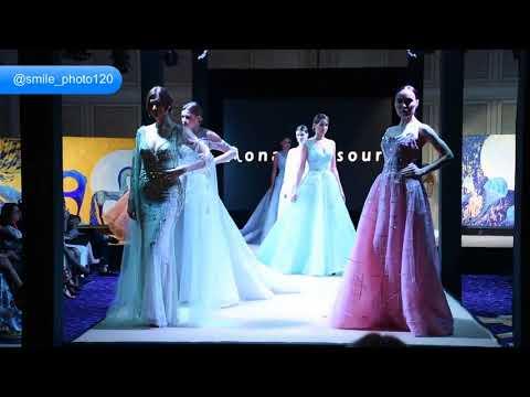 The  Emarati fashion designer Mona Almansouri  fashion designer  at world fashion fastival  aw