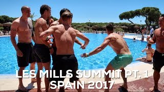 SEEING MY FRIENDS AGAIN AT THE LES MILLS SUMMIT - Bas Hollander - Vlog 134
