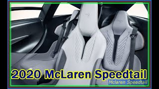 Video Review - New 2020 McLaren Speedtail Hybrid 3 Seater