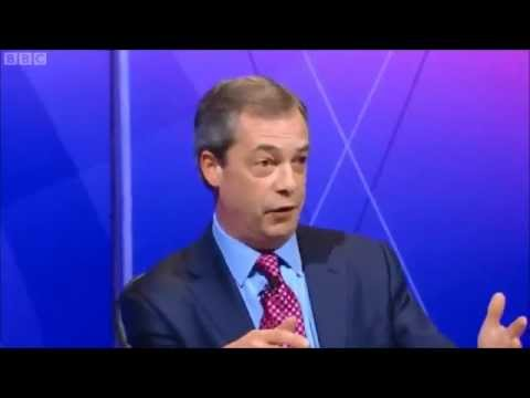 UKIP Nigel Farage - BBC Question Time Jan 2013