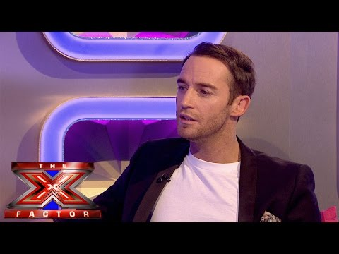 Jay James' Exit Chat | Live Results Wk 6 | The Xtra Factor UK 2014