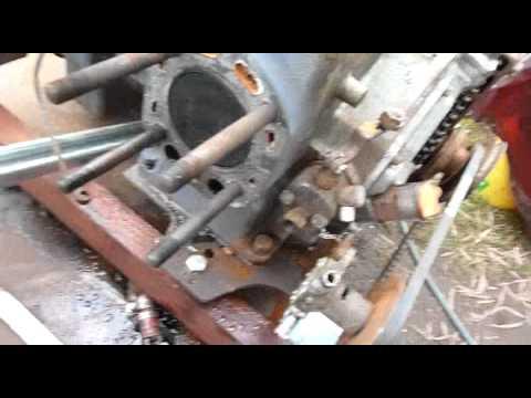 Yanmar YSE12G Marine Diesel Strip Down