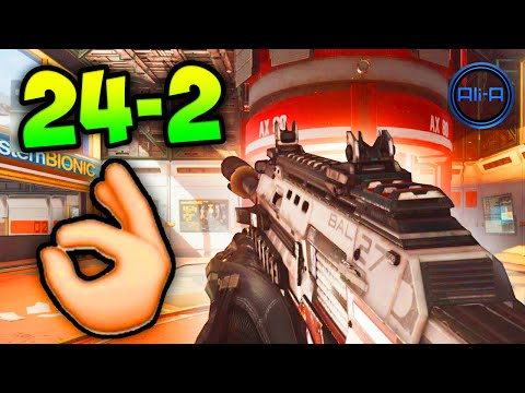 COD Advanced Warfare GAMEPLAY - 24-2 K/D Multiplayer! (Call of Duty 2014)
