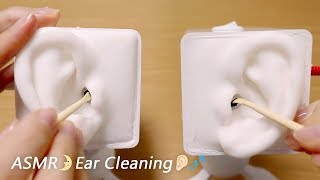 [ASMR] Ear Cleaning / No Talking👂 耳かきの音 / SR3D