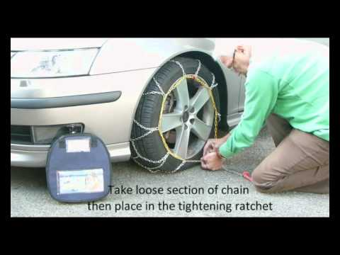 Snow Chains Fitted in 2 minutes.