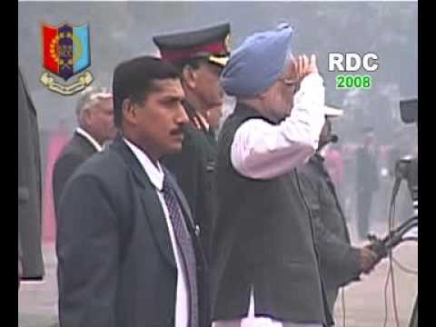 NCC RDC-2008 PM Rally at Garrison Parade Ground, Delhi