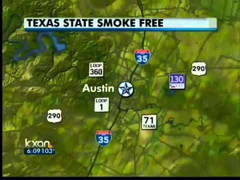 Smoking ban at Texas State University