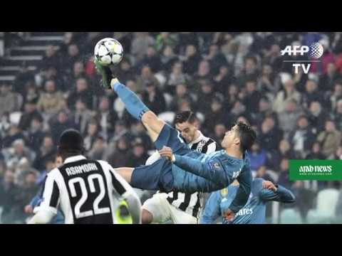 Record breaker Ronaldo lauded after 'most beautiful goal'