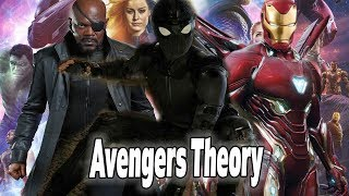 CRAZY Avengers 4 Endgame Theory in Leaked Spider-Man Trailer?