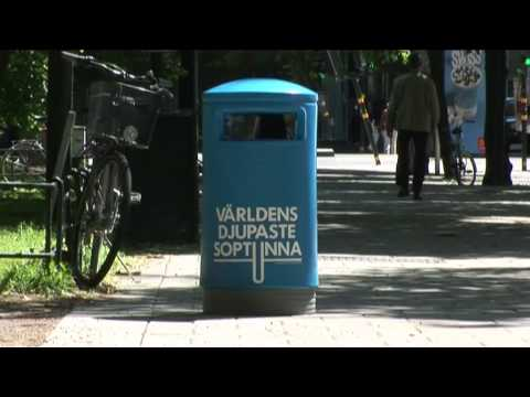 The world's deepest bin - Thefuntheory.com - Rolighetsteorin.se Video