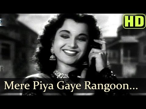 Mere Piya Gaye Rangoon - Patanga - Shamshad Begum Old Songs -hindi Old Hits video