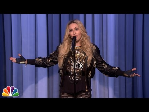 Madonna Makes Her Stand-up Debut video
