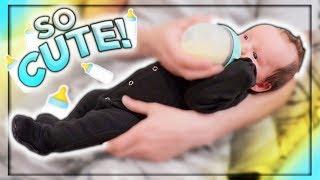 Newborn's Very First Bottle!