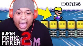 NO ONE CAN RUN FAST ENOUGH TO BEAT THIS LEVEL!! [SUPER MARIO MAKER 2] [#09]
