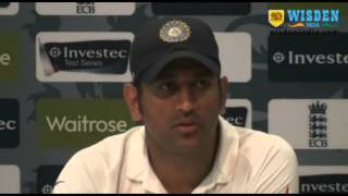 MS Dhoni PC, Second Test, Day 5, Lord