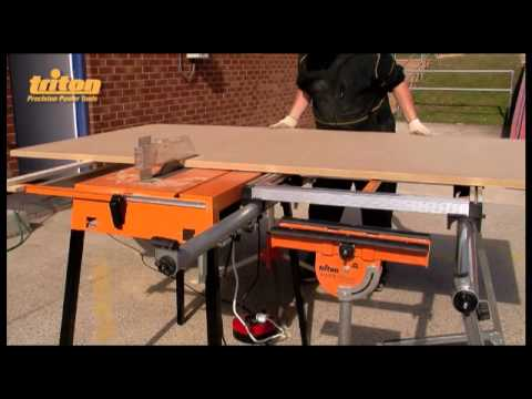 TRITON INSTRUCTIONAL: Triton TCB100 Saw Table