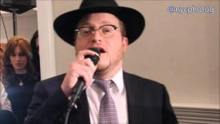 Rabbi Boruch Levine Sings New Composition At Lakewood Wedding