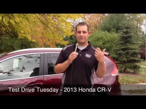 Test Drive Tuesday - 2013 Honda CR-V