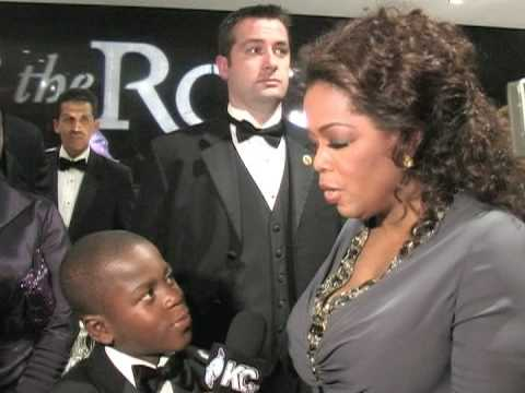 Oprah Winfrey interviewed by Damon Weaver