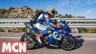 SUZUKI GSX-R1000R race to Aragon | Features | Motorcyclenews.com