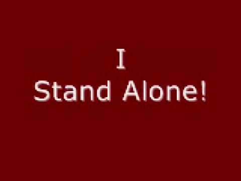 Godsmack- I Stand Alone With Lyrics video