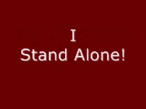 Godsmack- I Stand Alone With Lyrics video