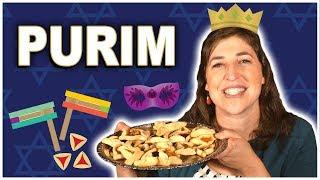 The Story of Purim    Mayim Bialik