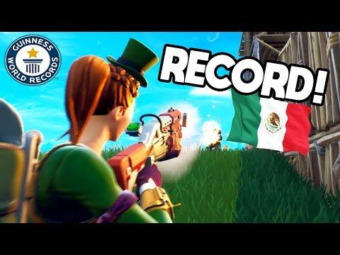 RECORD DE KILLS MEXICANO! Fortnite: Battle Royale (Mi Mejor partida)