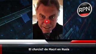 El ¿furcio? de Macri en Rusia