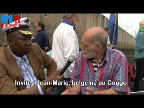 Jean-Marie - belge né au congo - lance un message en lingala à la diaspora congolaise