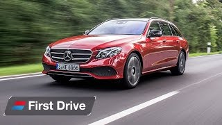 2016 Mercedes E-Class Estate first drive review: Large and in charge