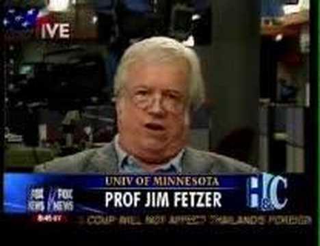 9/11 inside job Prof Jim Fetzer dumps on Hannity and Colmes