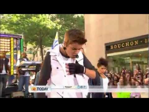 Justin Bieber Feat Big Sean - As Long As You Love Me Today Show 2012 video