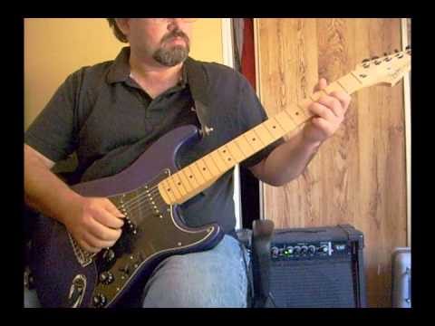 Amazing Grace Guitar Instrumental Played On A Strat In G Major video
